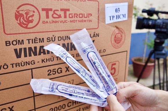 T&T Group bàn giao 8,5 triệu bộ bơm kim tiêm phục vụ chiến dịch tiêm chủng quốc gia phòng Covid-19 ảnh 2