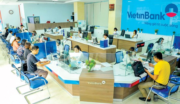 Giao dịch tại VietinBank.