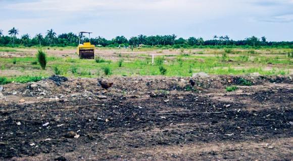 Một dự án nhà ở trong số 108 dự án bị thu hồi lần này.