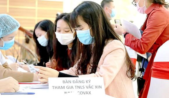 Nhiều học viên của Học viện Quân y tình nguyện đăng ký  thử nghiệm lâm sàng vaccine Covid-19.