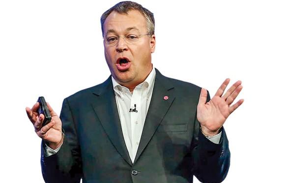 """CEO Stephen Elop  """"Điệp viên"""" giới công nghệ"""