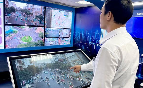 Với hệ thống camera giao thông hiện đại, TPHCM đang từng bước quản lý xã hội trên các nền tảng số.