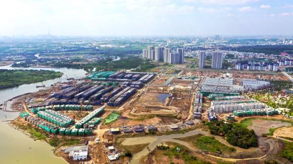 Khu dân cư mới tại Long Thạnh Mỹ, TP Thủ Đức được quy hoạch rộng lớn và hiện đại. Ảnh: HOÀNG HÙNG