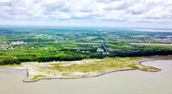 Chủ đầu tư đã đề xuất mở rộng dự án Khu đô thị du lịch lấn biển Cần Giờ từ 600 ha lên 2.870 ha. Ảnh: Internet