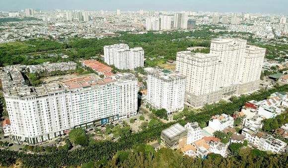 Khu dân cư Trung Sơn, huyện Bình Chánh, TPHCM Ảnh: CAO THĂNG