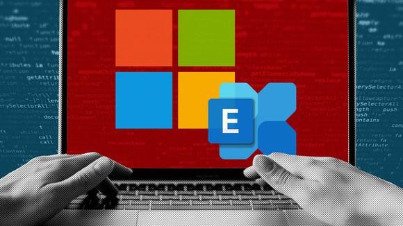 Ảnh minh họa vụ hack thông qua máy chủ email Exchange của Microsoft.