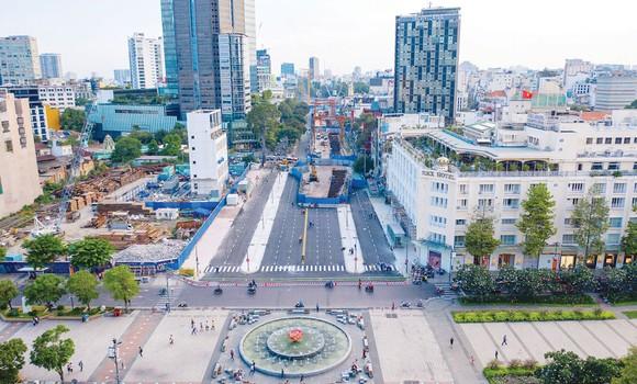 Hạ tầng  khu trung tâm TPHCM được chỉnh trang  xứng tầm  thành phố  hiện đại  bậc nhất  cả nước Ảnh:  DŨNG PHƯƠNG