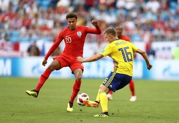 Thụy Điển - Anh 0-2: Maguire mở tỷ số, Dele Alli nhân đôi cách biệt