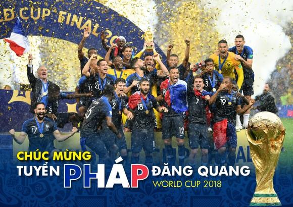 Món quà tặng bạn đọc: Tuyển Pháp đăng quang World Cup 2018 ảnh 1