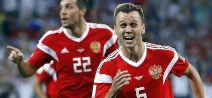 Denis Cheryshev bùng nổ trên đấu trường World Cup.