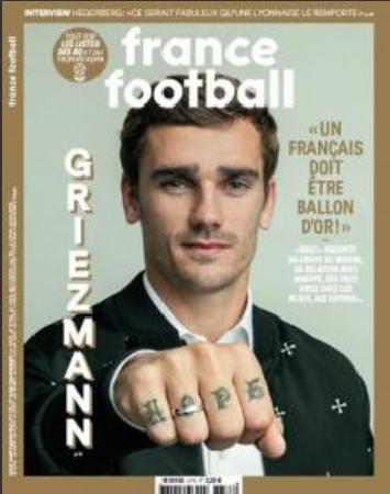 Griezmann: Quả bóng vàng năm nay phải dành cho cầu thủ Pháp ảnh 1
