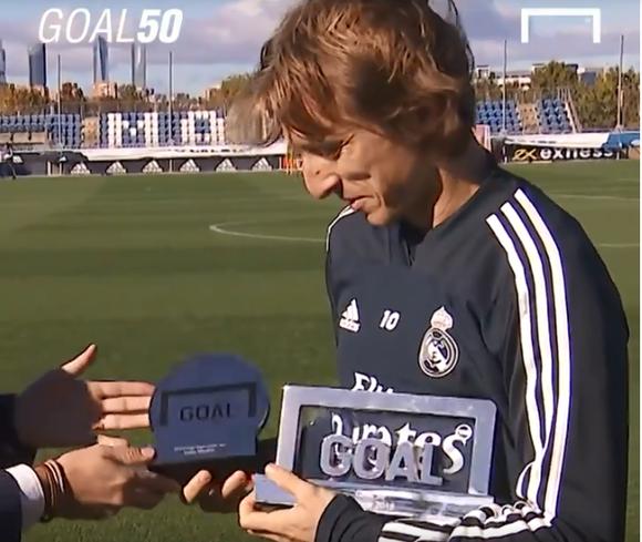Luka Modric đánh bại Ronaldo và Salah để đoạt giải Cầu thủ xuất sắc nhất năm ảnh 2