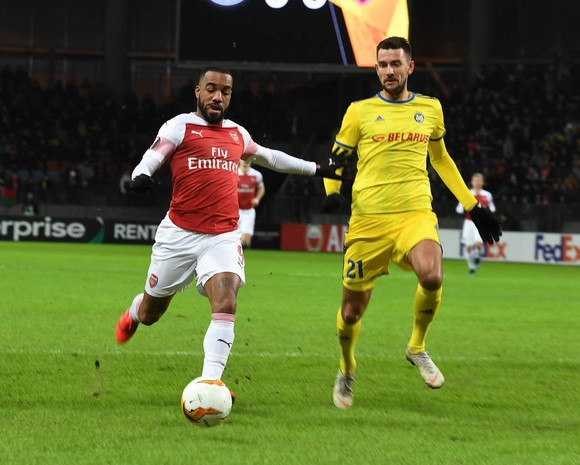 Arsenal – BATE Borisov (0-1): Pháo thủ phục thù ảnh 4