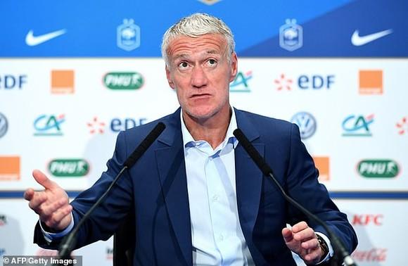 HLV tuyển Pháp Didier Deschamps.