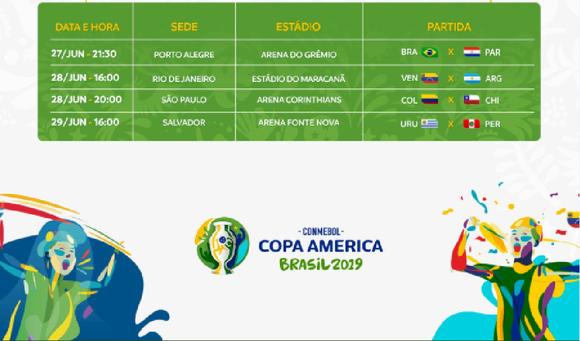 Lịch thi đấu bóng đ0á Copa America, vòng tứ kết: Brazil và Argentina ung dung qua ải ảnh 3