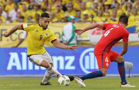 Nhận định Colombia – Chilê:James Rodriguez đại chiến Vidal