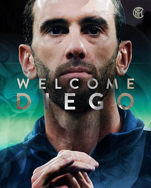 Từ chối Man United, Diego Godin bất ngờ gia nhập Inter ảnh 1
