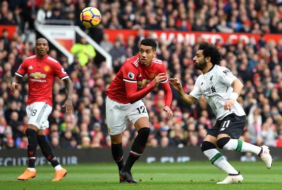 Mo Salah không có duyên ghi bàn khi gặp Quỷ đỏ