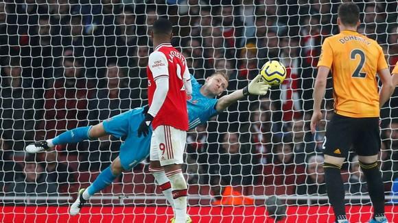 Arsenal - Wolves 1-1: Aubameyang tạo dấu ấn, Jimenez ghi tuyệt phẩm ảnh 7