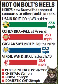 99% đáp sai câu hỏi: Ai là cầu thủ chạy nhanh nhất Premier League? ảnh 3