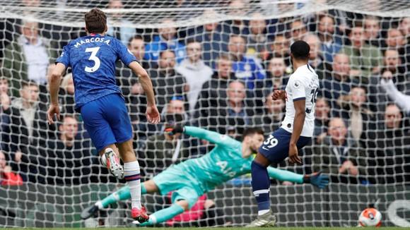 Chelsea - Tottenham 2-1: Giroud và Marcos Alonso lập siêu phẩm, Lampard hạ gục Mourinho ảnh 6