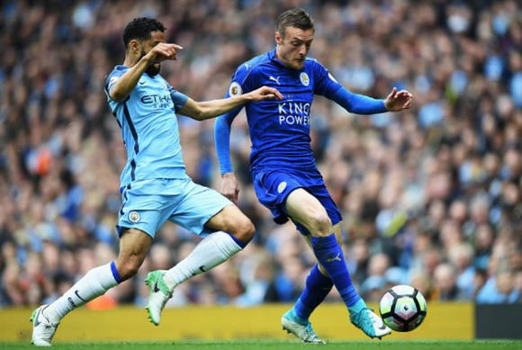 Jamie Vardy là mũi nhọn rất nguy hiểm của Leicester