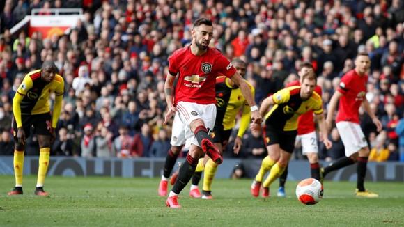 Man United - Watford 3-0: Bruno Fernandes tỏa sáng, Martial, Greenwood góp công ảnh 6