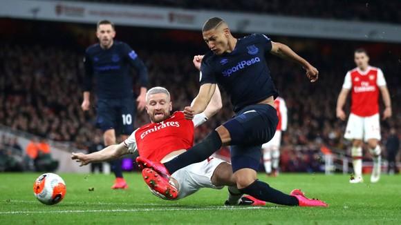 Arsenal - Everton 3-2: Aubameyang ghi cú đúp giúp Pháo thủ ngược dòng ảnh 11