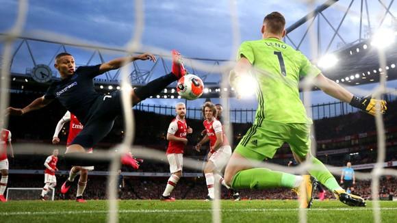 Arsenal - Everton 3-2: Aubameyang ghi cú đúp giúp Pháo thủ ngược dòng ảnh 9