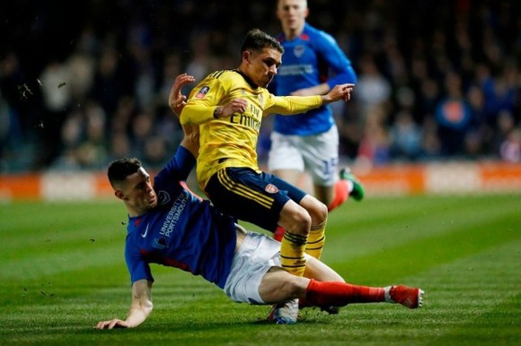 Arsenal lại xui: Lucas Torreira vỡ mắt cá, có thể nghỉ đến hết mùa