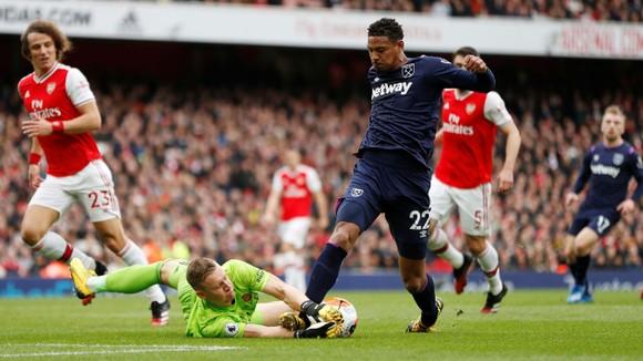 Arsenal - West Ham 1-0: Lacazette lập công đưa Pháo thủ lên thứ 9 ảnh 3