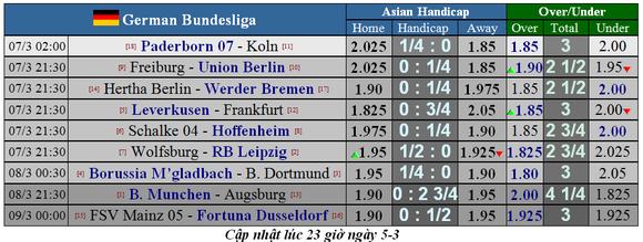 Lịch thi đấu Bundesliga, vòng 25: Hùm xám thừa cơ tăng tốc ảnh 2