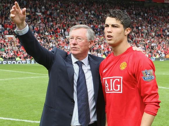 Sir Alex Ferguson và cậu học trò cưng Cristiano Ronaldo
