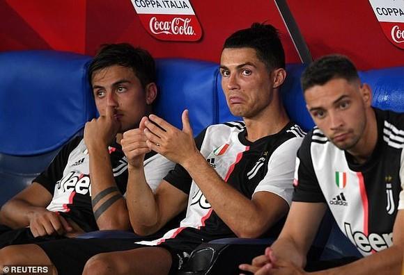 Ronaldo gây thất vọng trong cả 2 trận Cúp nước Ý