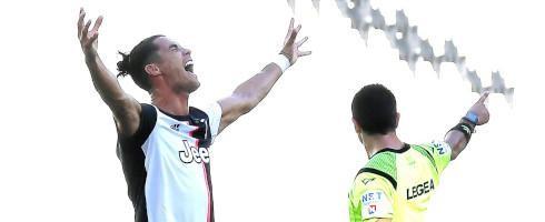 Sút thắng quả phạt đầu tiên cho Juventus, Ronaldo lập thêm 1 kỷ lục ghi bàn ở châu Âu ảnh 2