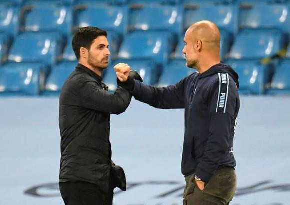 Pep Guardiola gặp lại cậu học trò Mikael Arteta