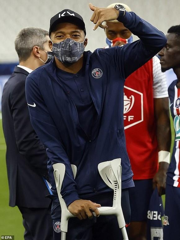 PSG lo lắng Kylian Mbappe chấn thương không kịp dự Champions League ảnh 2