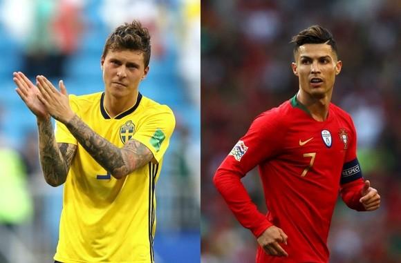 Victor Lindelof sẽ cố gắng ngăn cản Ronaldo