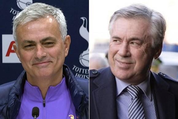 Jose Mourinho và Carlo Ancelotti