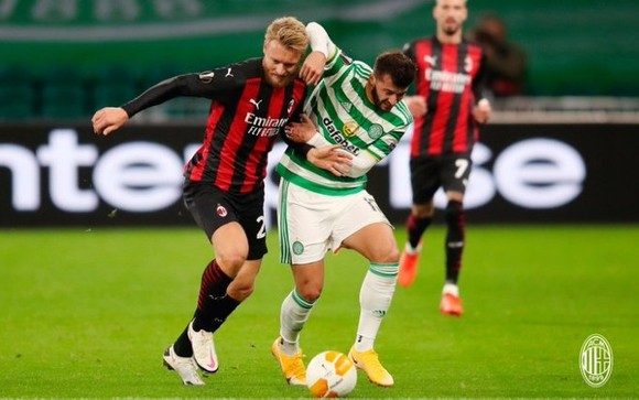 AC Milan tỏ ra quá mạnh so với Celtic