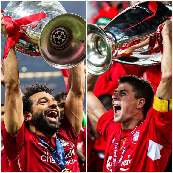 Salah tự hào khi bắt kịp kỷ lục của huyền thoại Liverpool ảnh 2