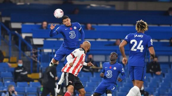 Chelsea thắng ngược Sheffield United: Thiago Silva và Werner ghi bàn trong màn trình diễn của Ziyech ảnh 3