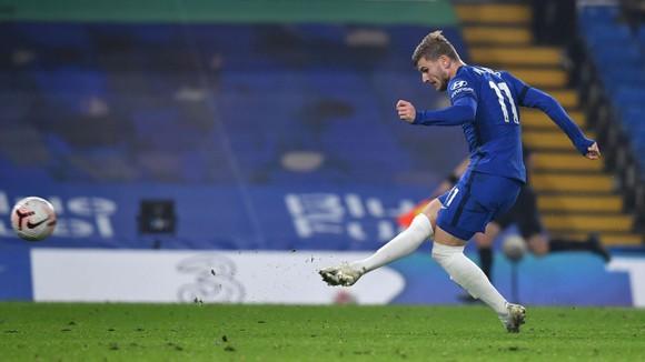 Chelsea thắng ngược Sheffield United: Thiago Silva và Werner ghi bàn trong màn trình diễn của Ziyech ảnh 4