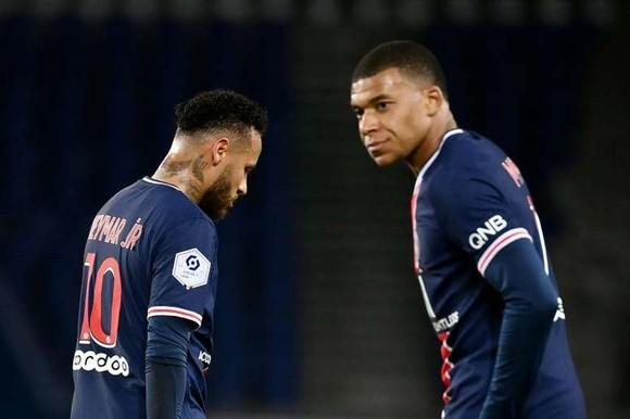 Neymar và Mbappé