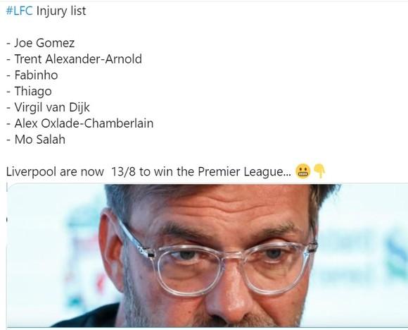 Mất thêm Salah và Alexander-Arnold, Liverpool tan nát đội hình khi vắng 7 ngôi sao ảnh 2