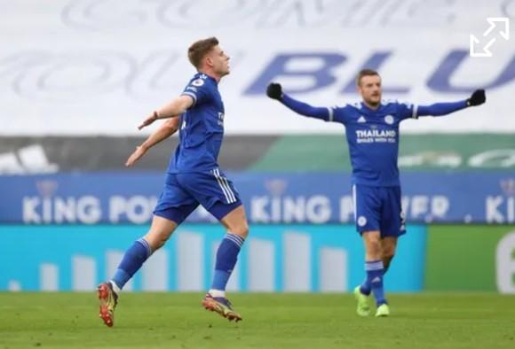 Cavani lại kiến tạo, nhưng Man United vẫn bị Leicester lội ngược dòng ảnh 1