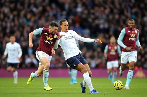 AStion Villa từng thắng đậm Liverpool hồi tháng 10