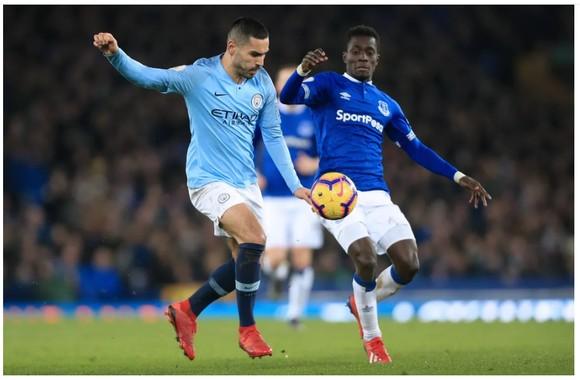 Trận Man City - Everton