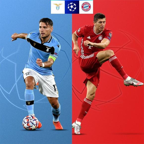 Ciro Immobile (Lazio) và Robert Lewandowski (Bayern)