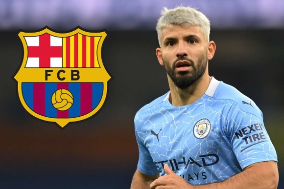 Sergio Aguero sẽ theo tiếng gọi Camp Nou